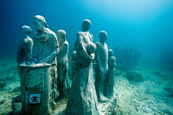 И среды обитания морских животных и